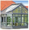 Winter garden sun house