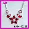 wholesale fashion jewelry resin chain link necklaces