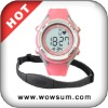 Heart rate monitor sports watch for lady