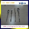 stainless steel die casting and bright polishing tableware machine part