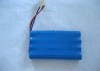 800mah 9.6v NiCD Battery Pack with 23 g weight