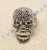 Hot Sale Vintage Metal Skull Rings for Men , Halloween Festival rings!