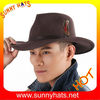 Wool felt Cowboy hats with Feather