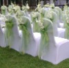 Hot! Outdoor MetallicFabric For Wedding Chair Cover