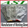 Cotton Yarn Knitted Working Glove