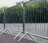 Crowd Road Safety Portable Barrier With Rod Style
