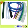 Various size and color silicone tubing