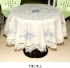 PVC with Non-woven / Flannel Back table cloth