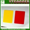 Red and Yellow Card Set,referee cards, football/soccer referee equipment