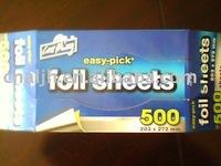 pop-ups foil sheet