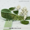 Green Velvet Ribbon,Metallic Ribbon