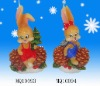 X'mas decorative candle  MQ10093-094