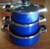 Cookware-6pcs Cookware Set-blue
