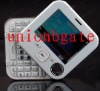 Hot selling Awang98i B mirror design QWERTY full keyborad dual sim dual standby rotation cellphone