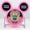 Mickey Mouse photo frame clock D409 on sale wholesale & drop shipping