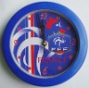 Football team wall clock