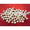 Inert ceramic ball, catalyst support media