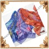 2009FASHION SCARF/BURN OUT /100% SILK SCARF