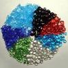 cailloux de verre de couleur glass bead