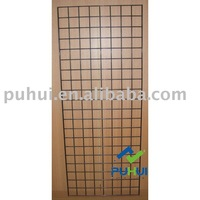 powder coating universal grid wall