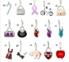 Fashion jewelry charms for bracelets and necklaces
