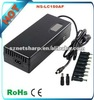 150W auto universal AC laptop charger/adapter with USB LED