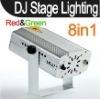 R&B LASER LIGHTING 8-PATTERN FOR DJ DISCO PARTY STAGE lamp