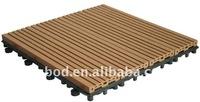 Wood Plastic Composite (WPC) Waterprooof Diy Decking Floor