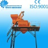 JS1500 twin-shaft concrete mixer