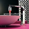 Senior hotel accessories colorful bathroom led faucet