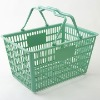 WF- plastic shopping basket with handle
