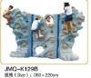JMQ-K129Bplayground outdoor climbing frames,balance exercises for kids,outdoor recreation games kids