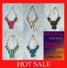 Wholesale Fashion Jewelry Necklace in Multicolors