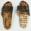 Wood Kneading Massage Sandal,Massage shoes, Massage Slipper,Spring acupuncture massage slipper