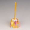 Fashion flroal printing Plastic Toilet Brush Set
