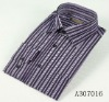 Fashion Business Dress Colorful stripe Men's shirt