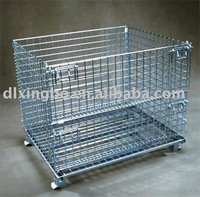 sell collapsible wire mesh container (W-2)