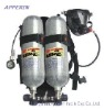 SCBA Respirator Positive pressure air breathing apparatus