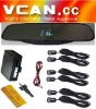VFD Rearview Mirror LED Display Parking Sensor /VCAN0391-1