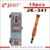 JK-341 mechanic tool box set (45#Steel screwdriver set),CE Certification