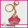 Fashion Accessories Bag Shaped Promotional keychains