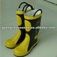 Firefighting rubber boots Safty Gum Shoes