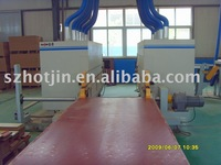 Wood composite flooring Double End Tenoner