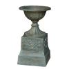 Cast iron flowerpot