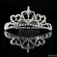 Wedding tiaras rhinestone hair jewelry