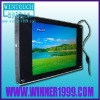 Wall-mount advertising display with touch screen
