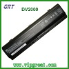 Brand new DV2000 laptop battery replacement battery