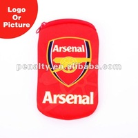 Arsenal cell phone neck hanging bag
