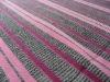 T/R slub rainbow stripe yarn dye knit fabric