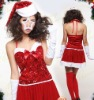 2012 new design ladies christmas garment
